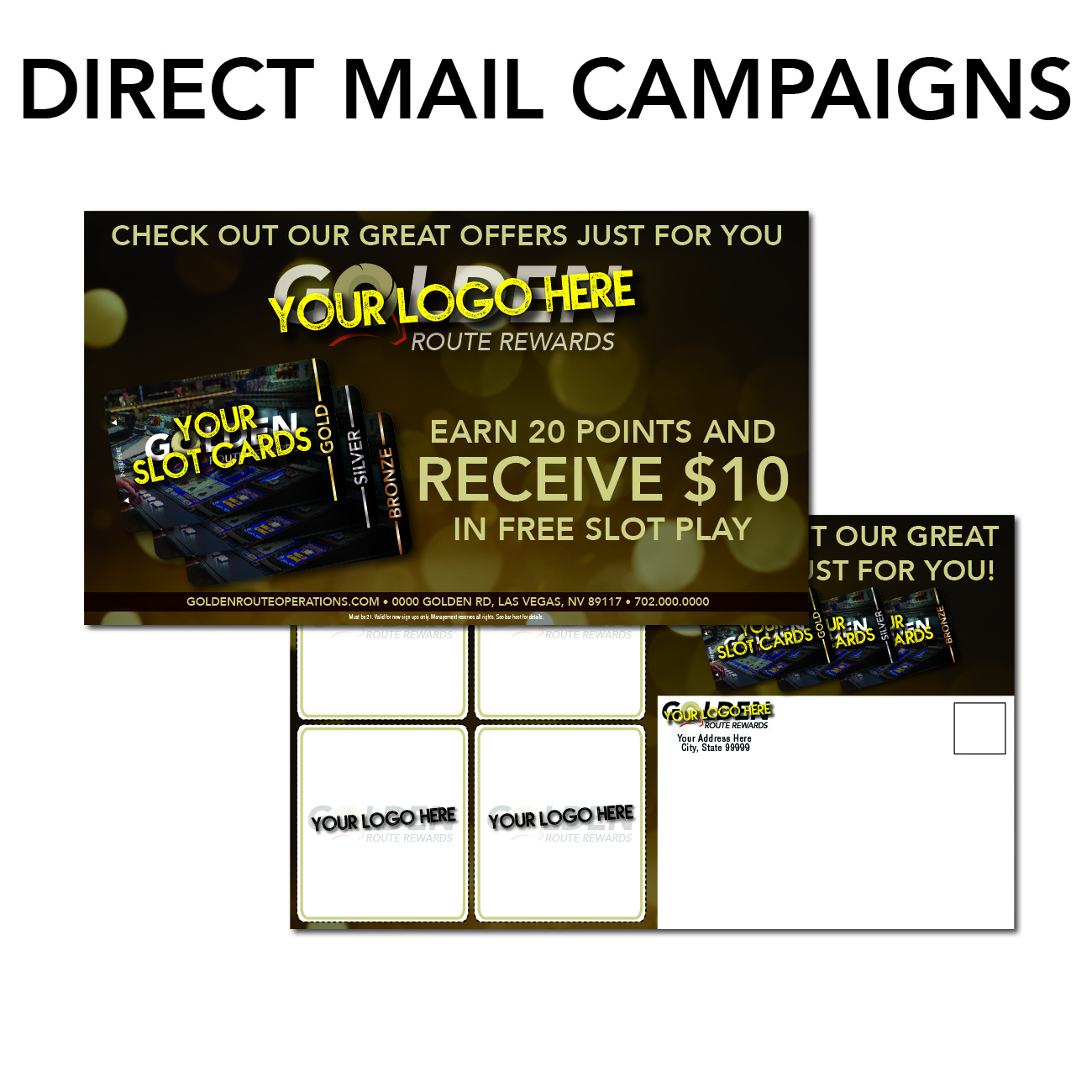 gro route rewards marketing needs direct mail campaigns